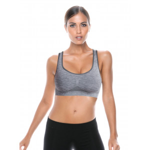 Top Donna Active-fit Mélange