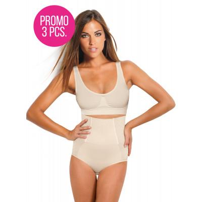 Slip modellante con corsetto compressione forte - promo 3 pezzi